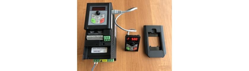 Обзор модулей управления и вынос пульта ПЧ Optimus Drive